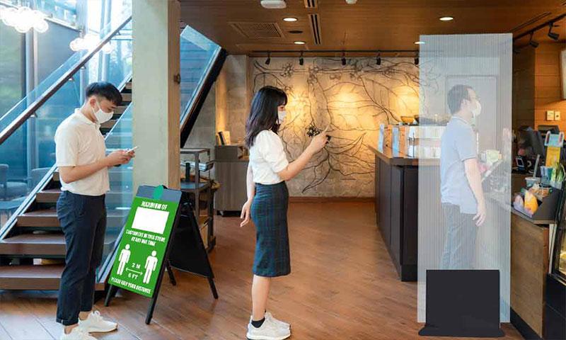 راهنمای کامل فاصله اجتماعی برای کافه ها ، رستوران ها و کافه ها
