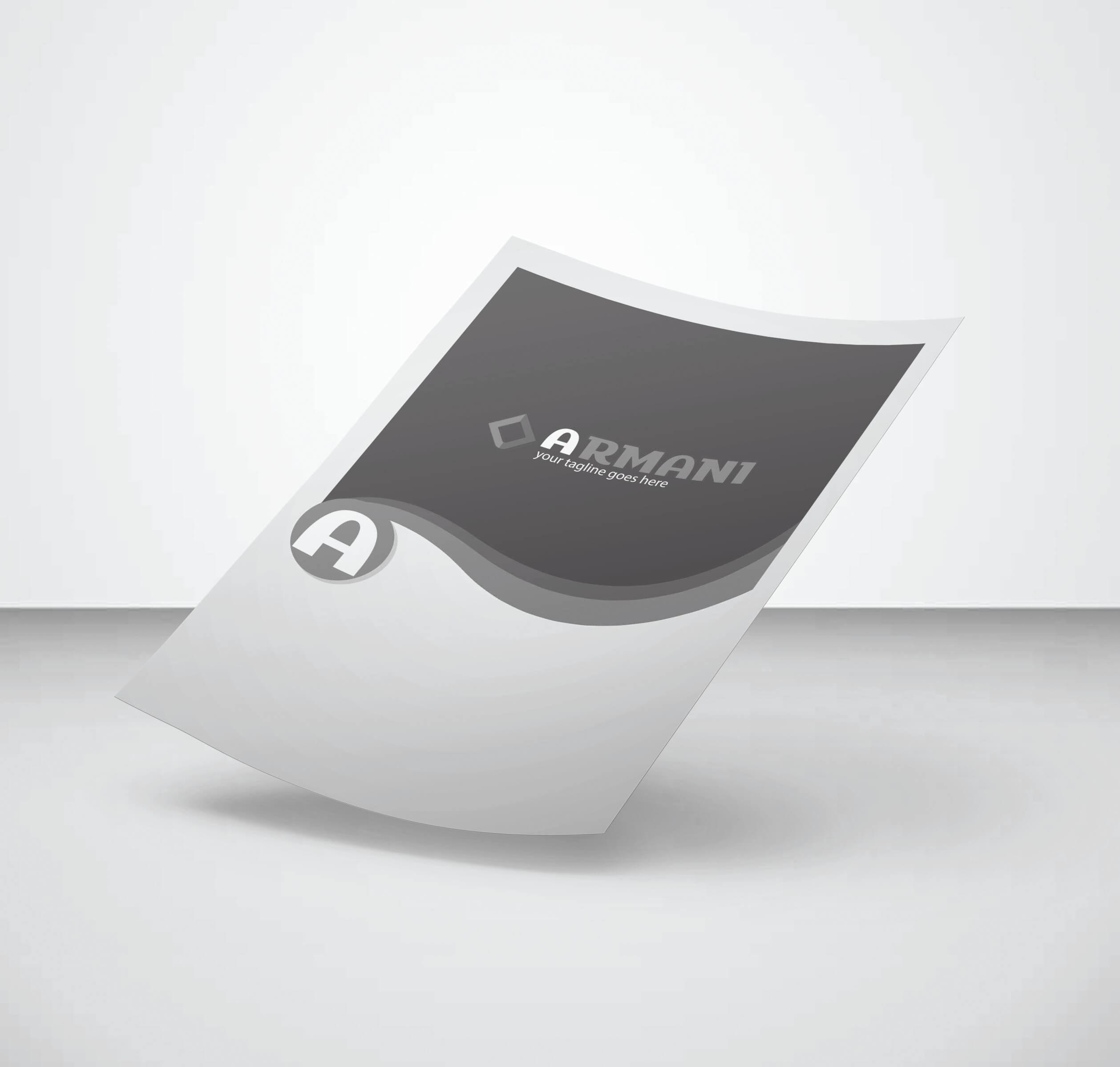 چاپ تراکت سیاه و سفید افست